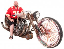 Paul Evans & His 2013 AHB Rat Bike