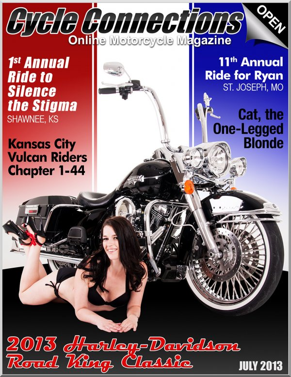 2013 Harley-Davidson Road King Classic & Cover Model LeeAnn