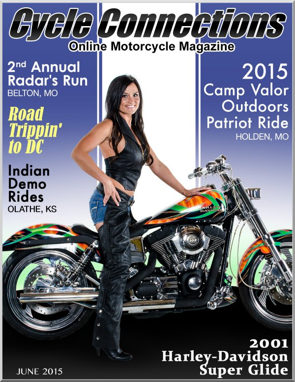 2001 Harley-Davidson Super Glide & Cover Model Melissa