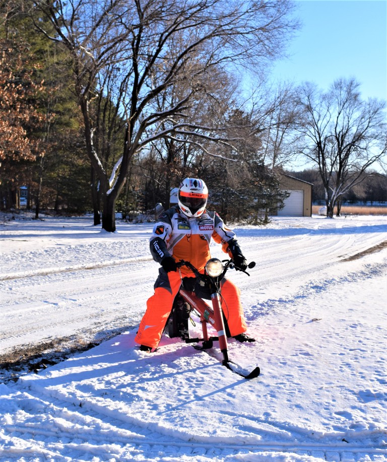 Chrysler Sno Runner Top Speed: Wisconsin: Winter Wonderland For Motorcyclists By Gary