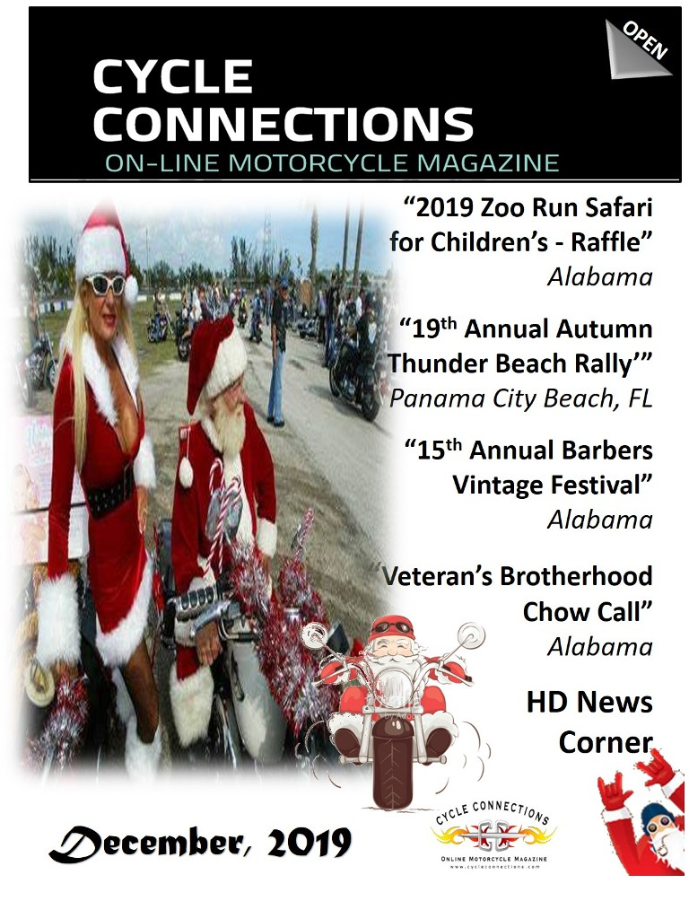 Cycle Connections 2019 December Cover