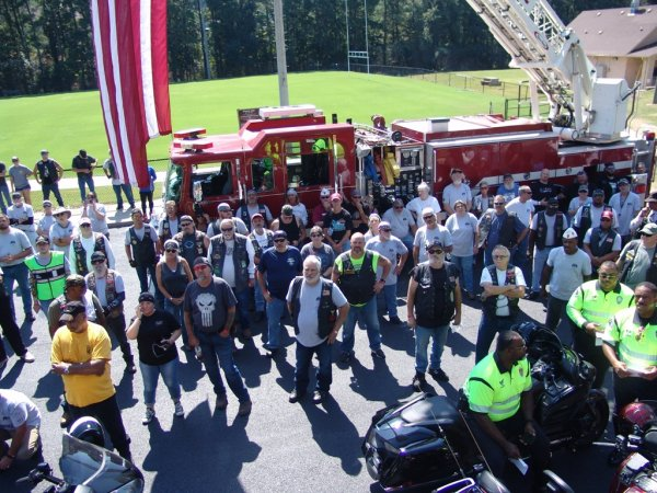 2019 American Legion Riders 15th Annual -911 Memorial Ride- Alabama