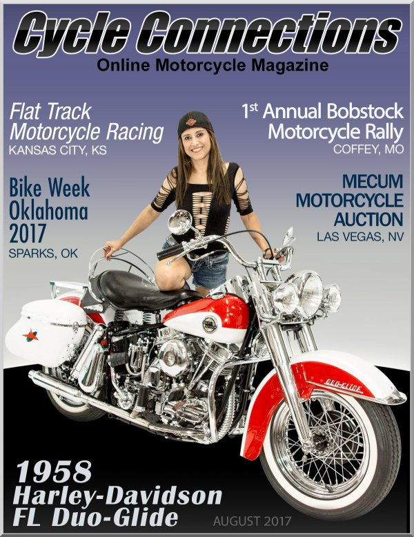 1958 Harley-Davidson FL Duo-Glide and Cover Model Lulu