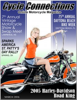 2005 Harley-Davidson Road King & Cover Model Melissa