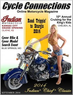 2014 Indian Chief Classic and Cover Model Alicia
