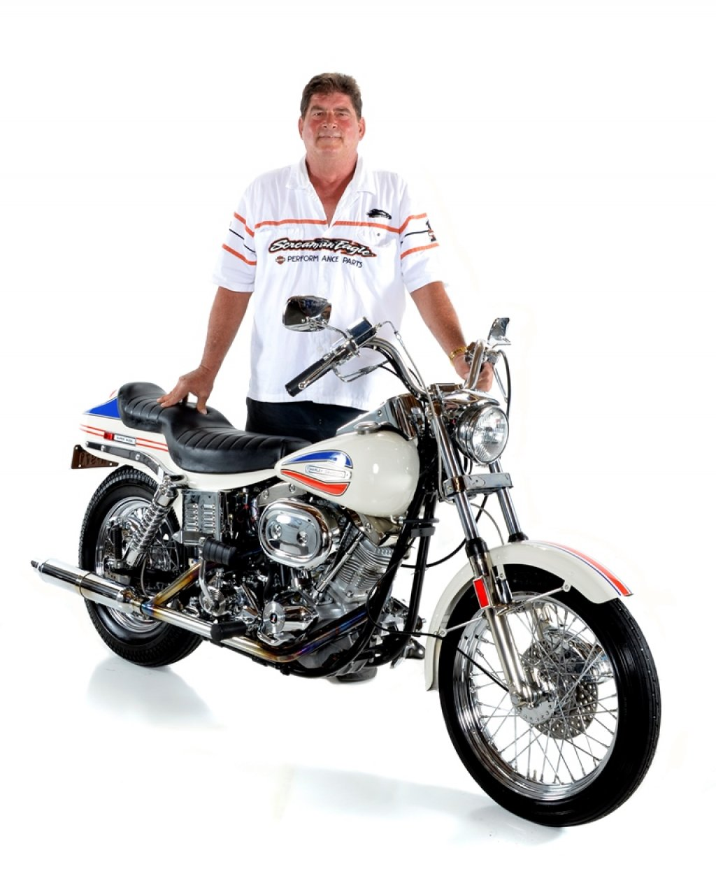 Mark Kozak & His 1971 Harley-Davidson FX Super Glide