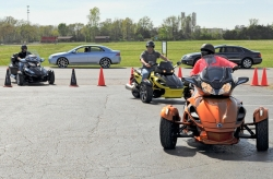 CAN-AM Spyder Demo Day at Reno's Powersports KC