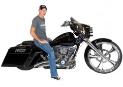 Chris Ruble & His 2013 Harley-Davidson Street Glide