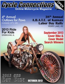 2013 AHB Rat Bike & Cover Model Alex
