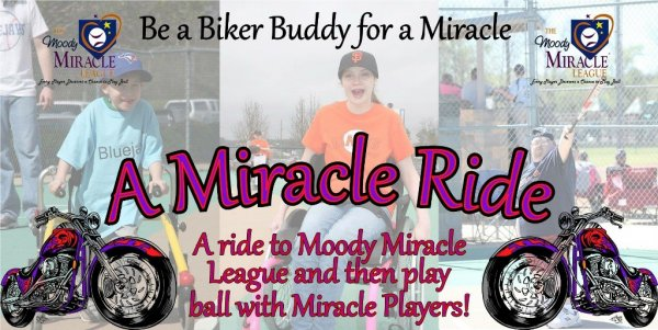 2018 Miracle Ride- Moody Alabama
