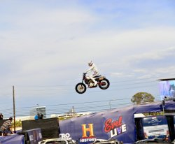 TRAVIS PASTRANA RECREATES 3 OF EVEL KNIEVEL'S FAMOUS JUMPS   By Eric Miller
