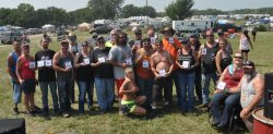 42nd Annual ABATE of Kansas Labor Day Rally Award Winners - Lake Perry, Kansas