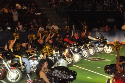 Patriot Guard Riders Assist at the Army Arena Bowl – Bakersfield, California