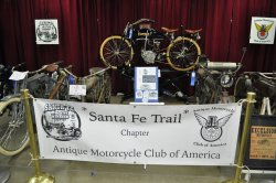 Vintage Motorcycle Show central display