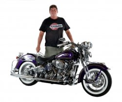 Mark Kozak & His 2000 Harley-Davidson Heritage Springer